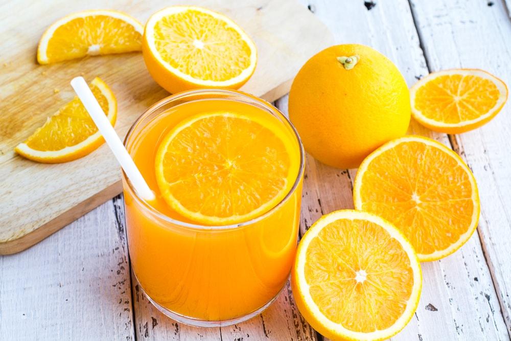 bienfaits du jus d'orange