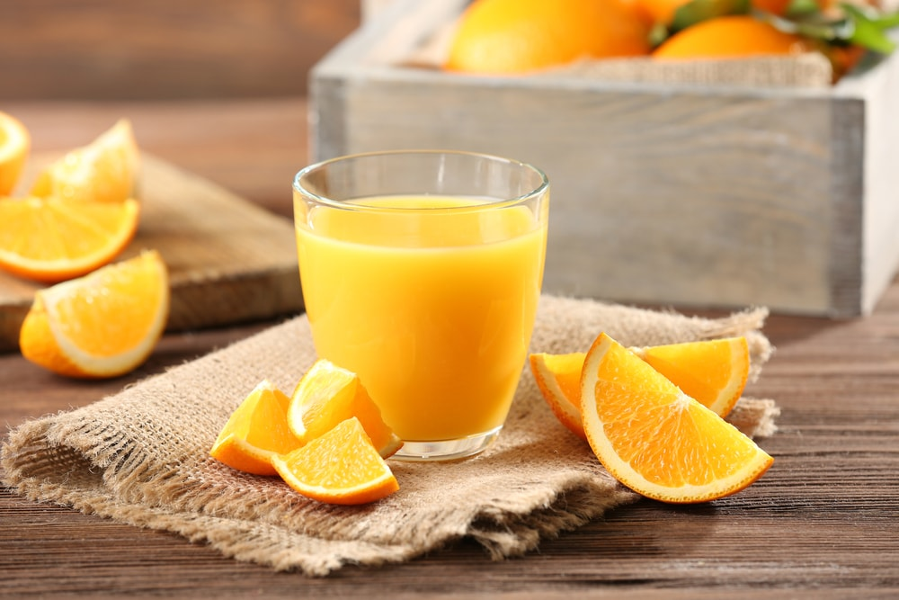 bienfaits du jus d'orange