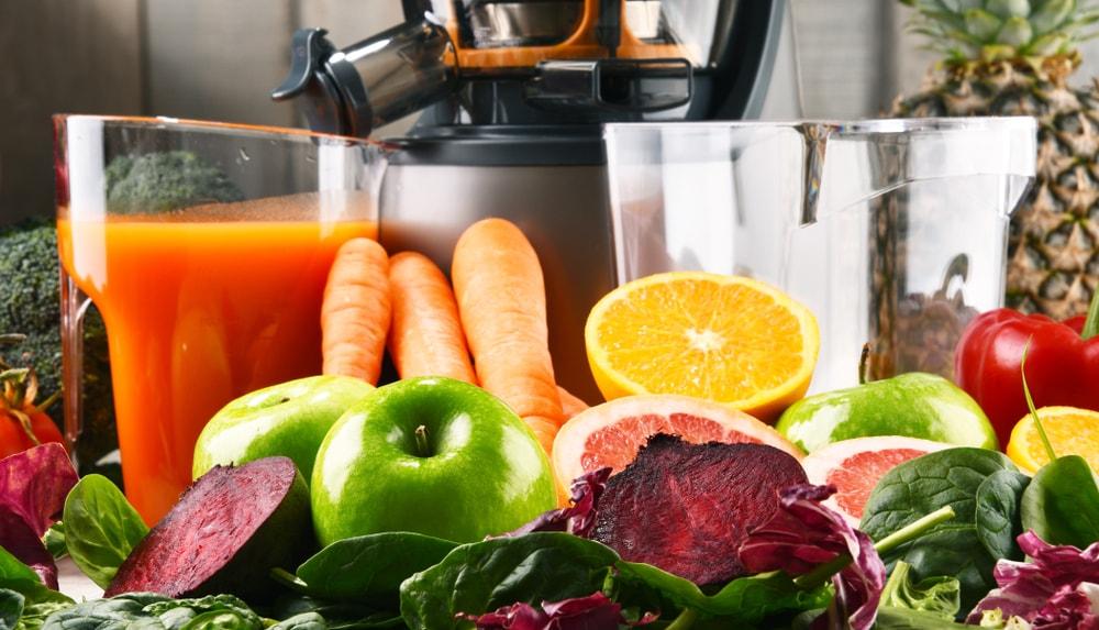 jus de légumes au petit dejeuner