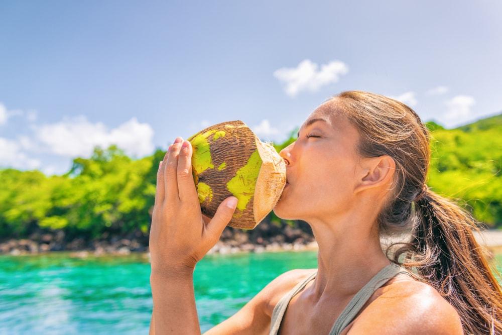 l'eau de coco pour mincir