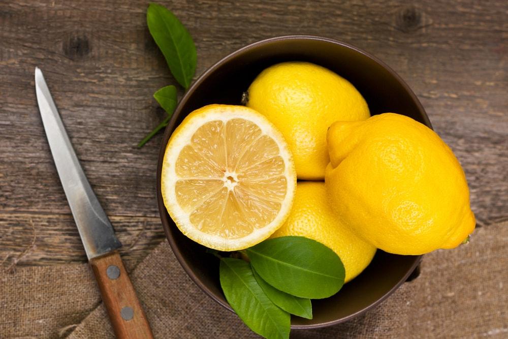 jus de citron efficace