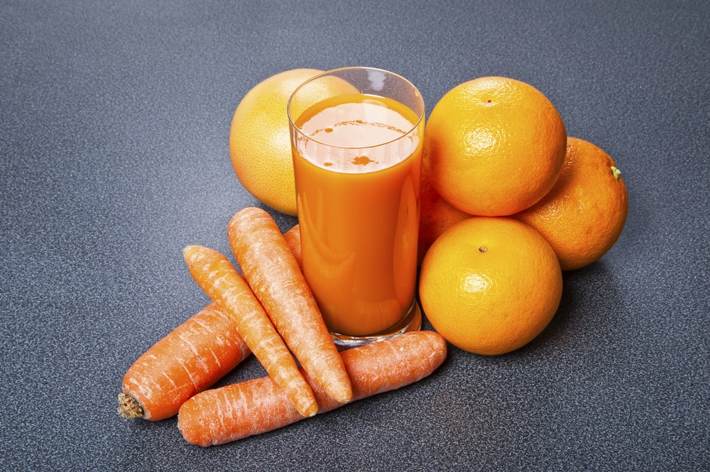 les vitamines dans les jus de légumes