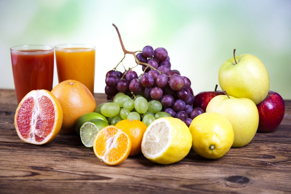 régime jus de fruits et de légumes
