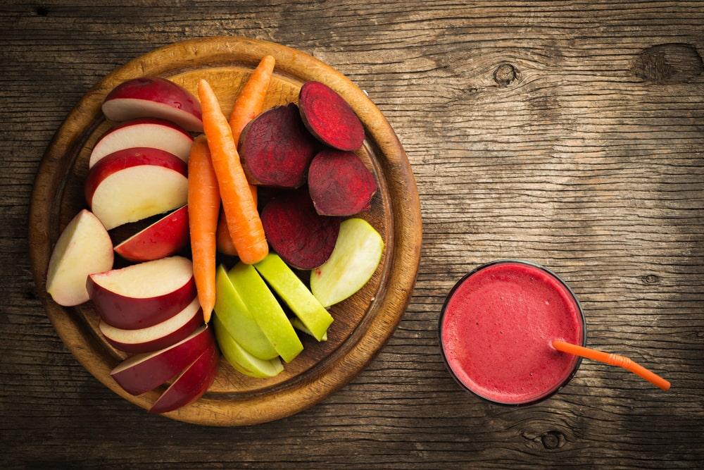 mincir avec les jus de fruits et légumes