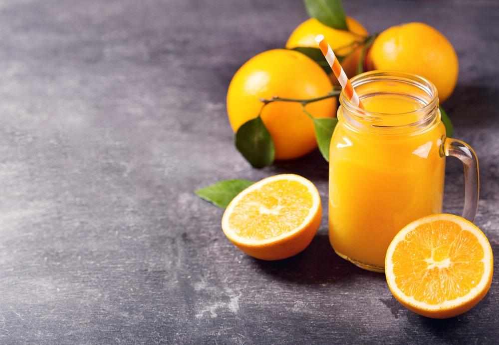 les bienfaits du jus d'orange