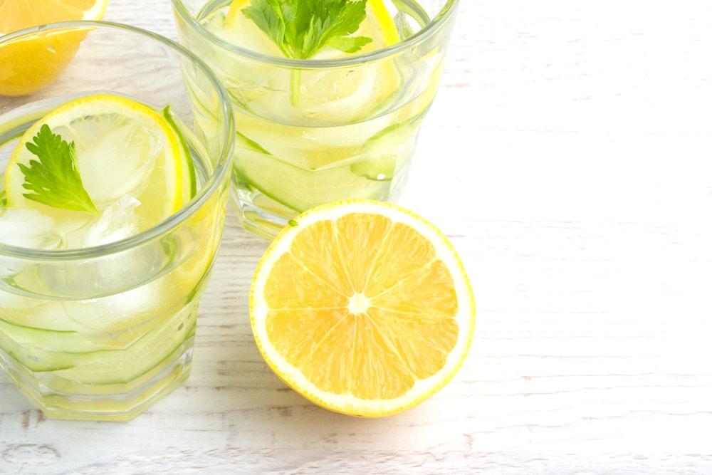 mises en garde eau citronnée